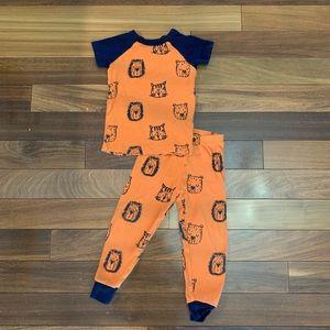 Gymboree Toddler boy 2 piece pajama set size 3T